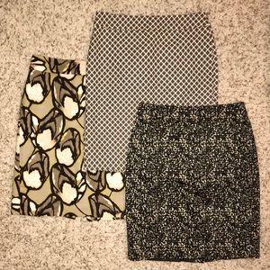 Bundle of Ann Taylor Pencil Skirts